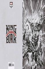 King In Black (2021) #3 Variant G: Incentive Virgin Sketch Cover