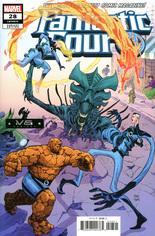 Fantastic Four (2018-2021) #28 Variant B: Marvel vs Alien Cover