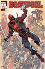 Deadpool Nerdy 30 #1 Variant C: Deadpool 30th Anniversary Cover