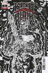King In Black (2021) #5 Variant E: Incentive Sketch Cover
