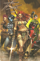 Red Sonja: Age Of Chaos (2020) #3 Variant ZB: Unknown Comic Books Exclusive