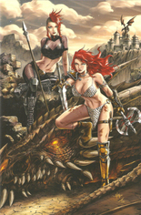 Red Sonja: Age Of Chaos (2020) #3 Variant ZC: Unknown Comic Books Exclusive