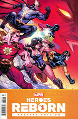 Heroes Reborn (2021) #1 Variant J: Incentive Cover
