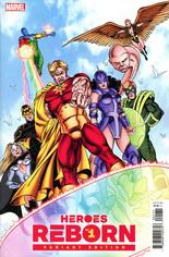Heroes Reborn (2021) #1 Variant G: Incentive Hidden Gem Cover