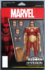 Heroes Reborn (2021) #1 Variant E: Action Figure Cover