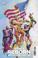 Heroes Reborn (2021) #1 Variant B: Squadron Supreme Cover