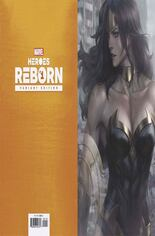 Heroes Reborn (2021) #1 Variant L: Incentive Virgin Cover