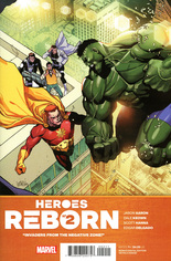 Heroes Reborn (2021) #2 Variant A