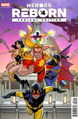 Heroes Reborn (2021) #4 Variant B: Incentive Squadron Supreme Cover