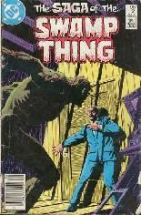 Saga of the Swamp Thing (1982-1984) #21 Variant A