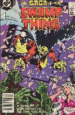 Saga of the Swamp Thing (1982-1984) #27 Variant A: Newsstand Edition
