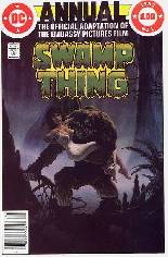 Saga of the Swamp Thing (1982-1984) #Annual 1 Variant A: Newsstand Edition; Movie Adaptation