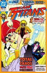 Team Titans (1992-1994) #1 Variant A: Terra cover