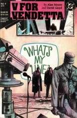 V For Vendetta (1988-1989) #5