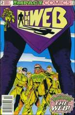 Web (1991-1992) #2 Variant A: Newsstand Edition