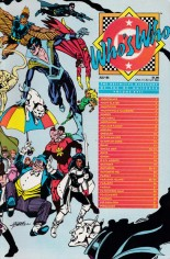 Who's Who: The Definitive Directory of the DC Universe (1985-1987) #17 Variant B: Direct Edition