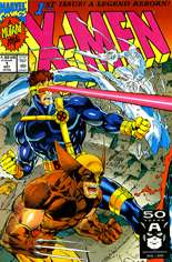 X-Men (1991-2001, 2004-2008) #1 Variant E: Direct Edition; Wolverine/Cyclops/Iceman Cover