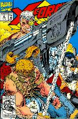 X-Force (1991-2002) #9 Variant B: Direct Edition