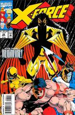 X-Force (1991-2002) #26 Variant B: Direct Edition