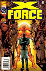 X-Force (1991-2002) #49 Variant A: Newsstand Edition