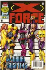 X-Force (1991-2002) #54 Variant A: Newsstand Edition