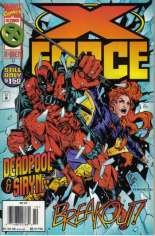 X-Force (1991-2002) #47 Variant A: Newsstand Edition