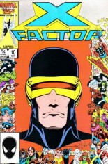 X-Factor (1986-1998) #10 Variant B: Direct Edition