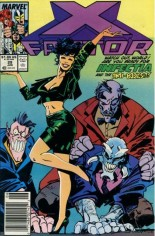 X-Factor (1986-1998) #29 Variant A: Newsstand Edition