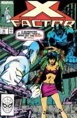 X-Factor (1986-1998) #31 Variant B: Direct Edition
