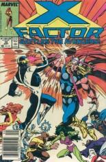 X-Factor (1986-1998) #32 Variant A: Newsstand Edition