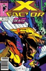 X-Factor (1986-1998) #34 Variant A: Newsstand Edition