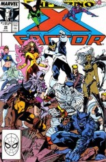 X-Factor (1986-1998) #39 Variant B: Direct Edition