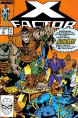 X-Factor (1986-1998) #41 Variant B: Direct Edition