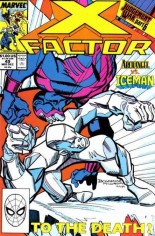 X-Factor (1986-1998) #49 Variant B: Direct Edition
