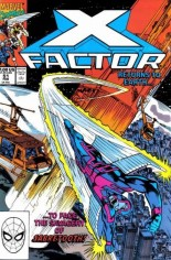 X-Factor (1986-1998) #51 Variant B: Direct Edition