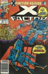 X-Factor (1986-1998) #61 Variant A: Newsstand Edition