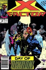 X-Factor (1986-1998) #70 Variant A: Newsstand Edition