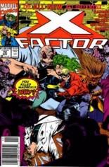 X-Factor (1986-1998) #72 Variant A: Newsstand Edition