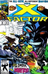 X-Factor (1986-1998) #75 Variant B: Direct Edition