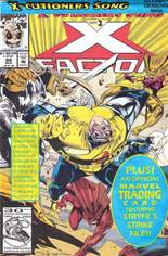 X-Factor (1986-1998) #84 Variant D: Direct Edition; Polybagged w/ Card