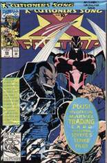 X-Factor (1986-1998) #86 Variant D: Direct Edition; Polybagged w/ Card