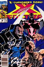 X-Factor (1986-1998) #86 Variant A: Newsstand Edition; Not Polybagged