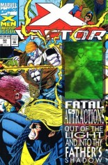 X-Factor (1986-1998) #92 Variant B: Direct Edition; Wraparound Hologram Cover