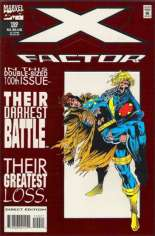 X-Factor (1986-1998) #100 Variant C: Direct Edition; Red Foil Embossed Cover