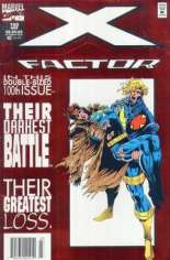 X-Factor (1986-1998) #100 Variant A: Newsstand Edition; Red Foil Embossed Cover
