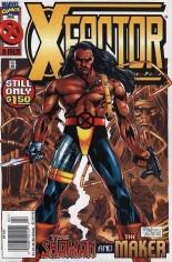X-Factor (1986-1998) #121 Variant A: Newsstand Edition