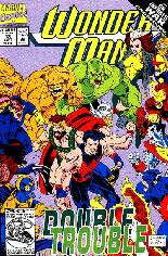 Wonder Man (1991-1994) #13 Variant B: Direct Edition