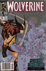 Wolverine (1988-2003) #16 Variant A: Newsstand Edition
