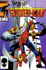 Web of Spider-Man (1985-1995) #2 Variant B: Direct Edition