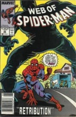 Web of Spider-Man (1985-1995) #39 Variant A: Newsstand Edition